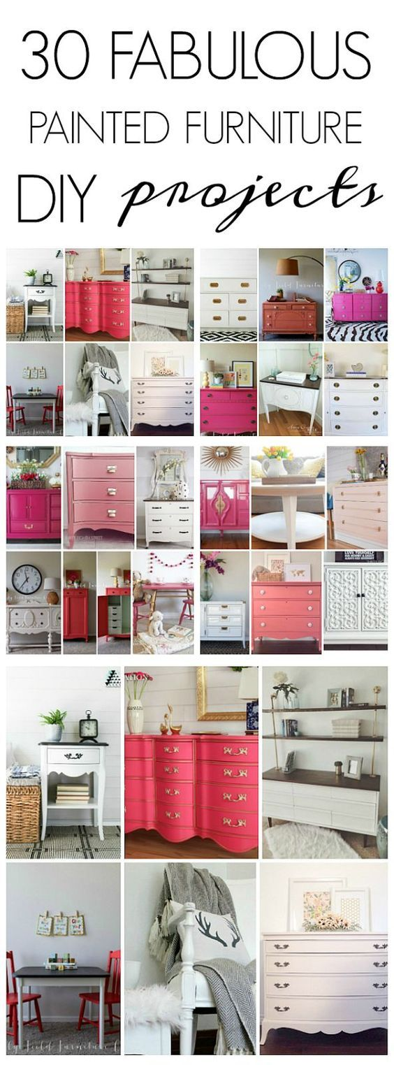 diy furniture refinishing projects. 30 Painted Furniture DIY Projects Diy Refinishing T