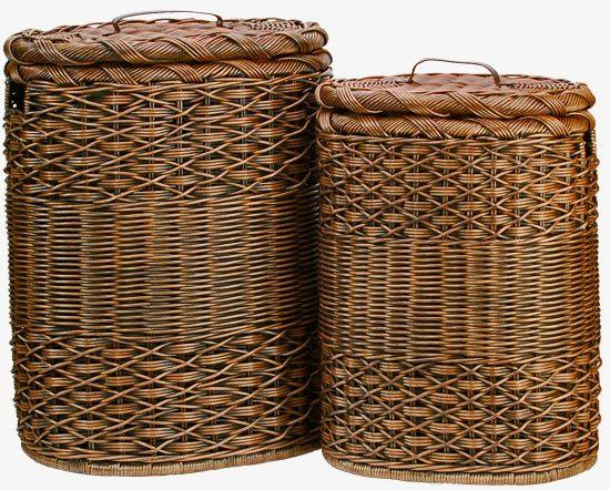 Oval Wicker Laundry Hamper Wicker Hamper Basket Wicker