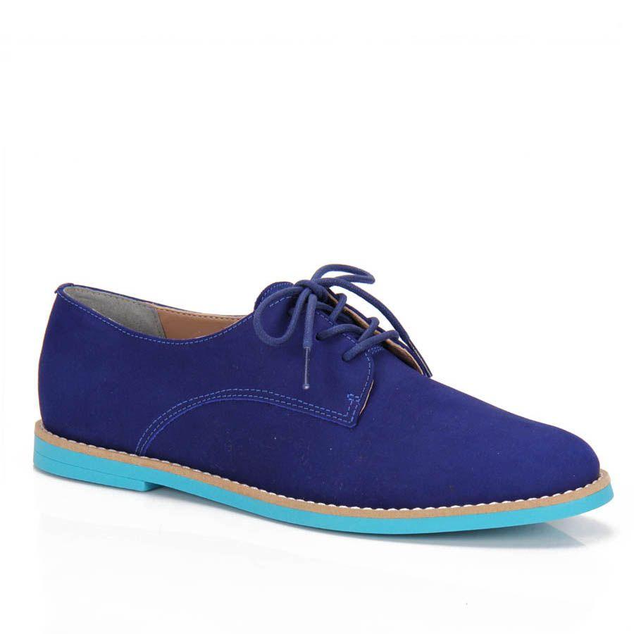 9ae84bfb11 Feminino - Sapato Oxford Feminino Cravo E Canela 88501 - Azul -  Passarela.com - Calçados online