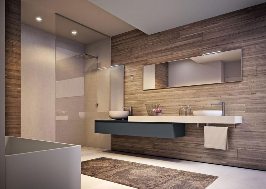Mobile bagno sospeso Cubik Muebles baño, Duchas y Baño - pared de madera