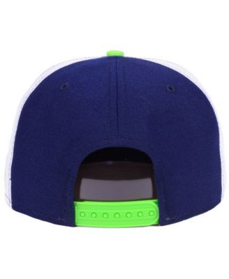 various colors ab0e4 8111d New Era Seattle Seahawks Establisher 9FIFTY Snapback Cap - Blue Adjustable