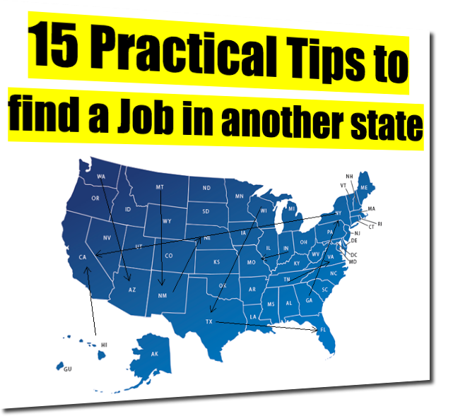 15 Practical Tips To Find A Job In Another State