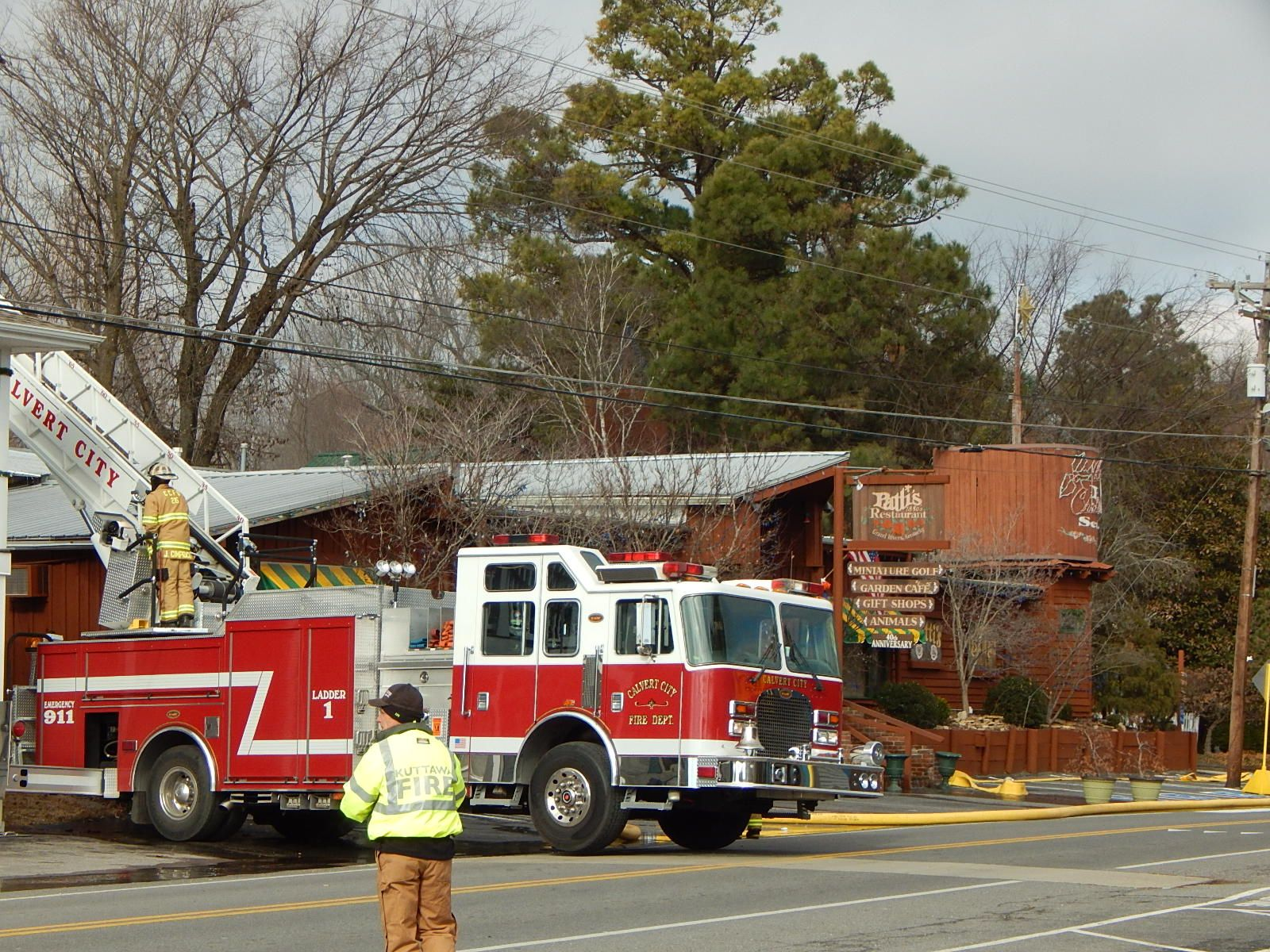 Our Famous Patty\'s Restaurant In Grand Rivers Ky Caught Fire This ...