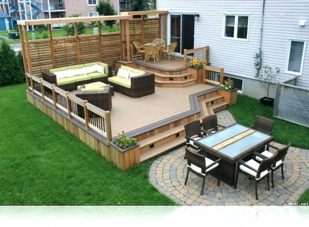 Small Deck Ideas Decorating Porch Design On A Budget Space Saving Diy Backyard Apartment With Stairs Bal Deck Designs Backyard Patio Design Wood Deck Designs