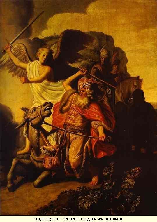 Albert Bierstadt Museum: Balaam and his Ass REMBRANDT