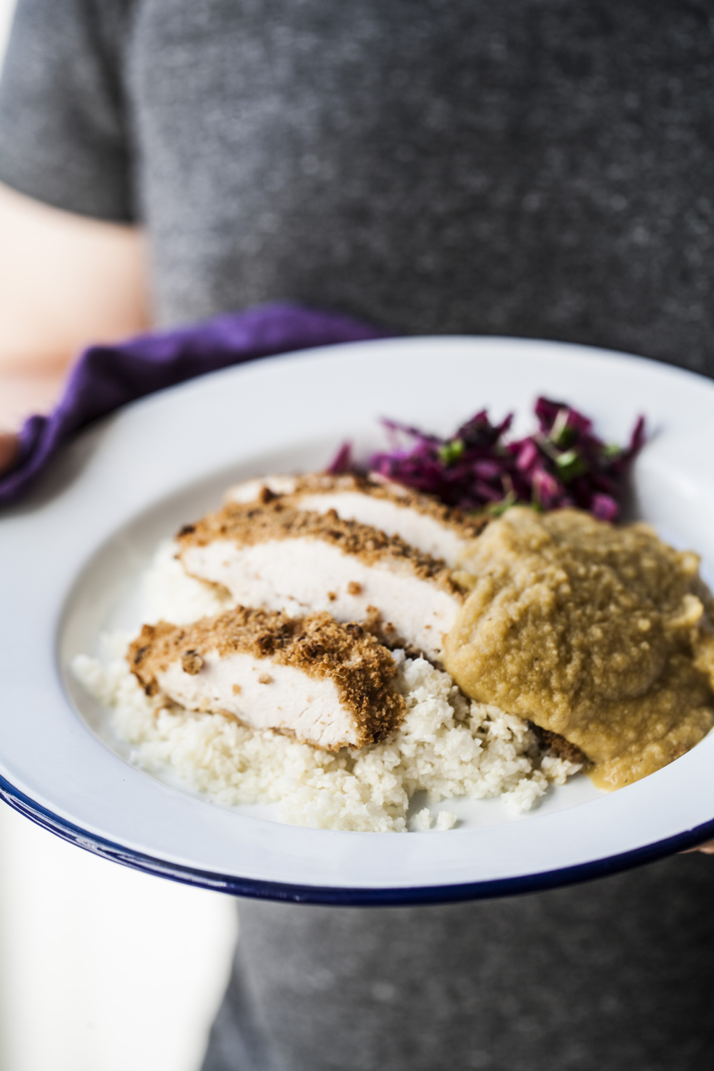4bc271b394d Lean   clean chicken katsu curry! A few tidy tweaks to the recipe so you  can enjoy it more often.