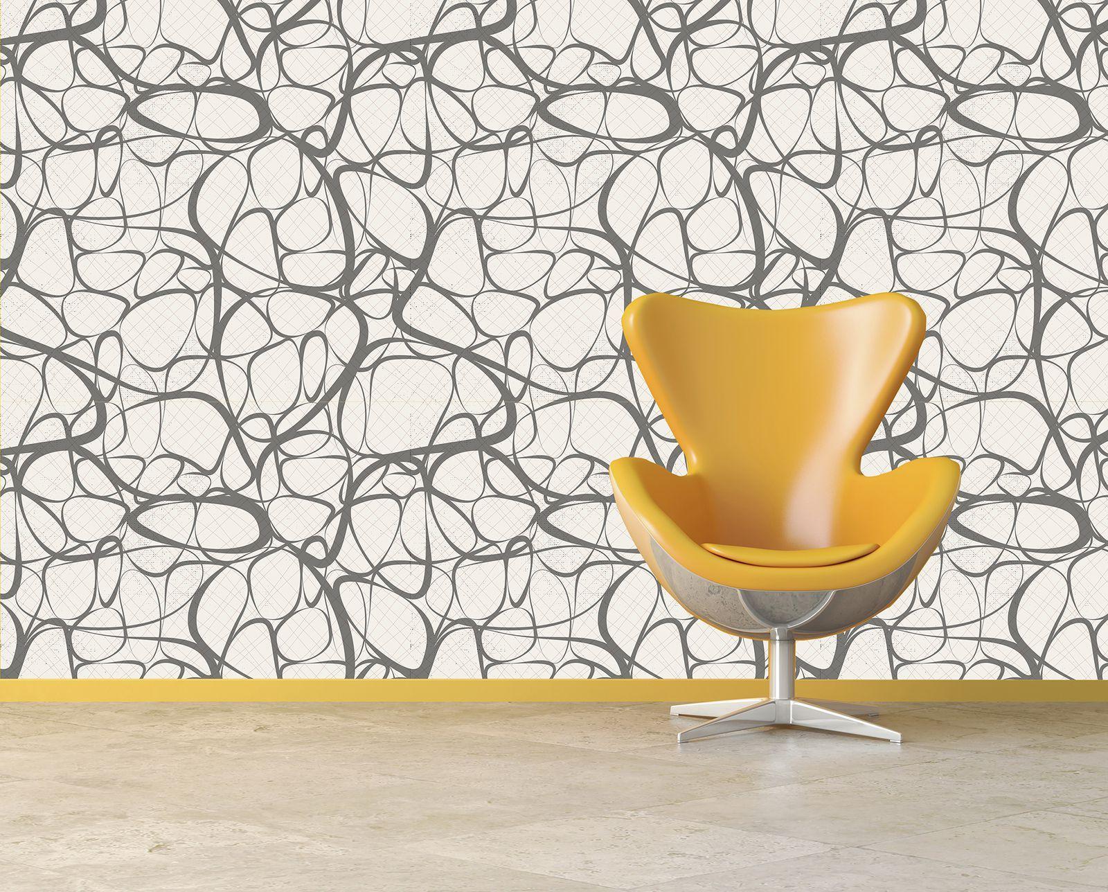 These 21 Mid Century Modern Wallpaper Ideas Will Transform Your Walls Mid Century Modern Wallpaper Modern Wallpaper Mid Century Wallpaper
