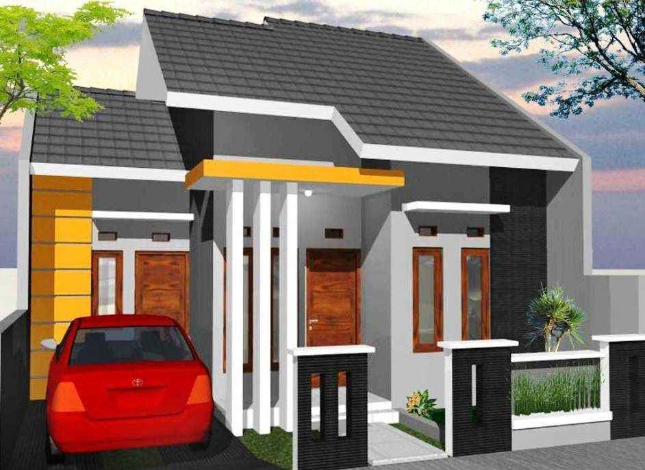 Desain Rumah Minimalis 1 Lantai Type 36 Tampak Depan Rumah Minimalis Rumah Desain Rumah Minimalis