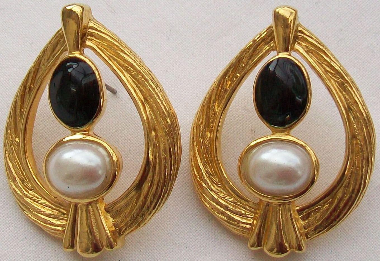 Avon - Vintage - Bijoux - Boucles d'Oreilles