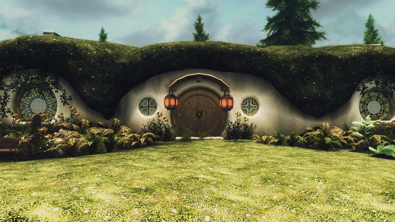 Aearon- A Hobbit Home at Skyrim Nexus - mods and community