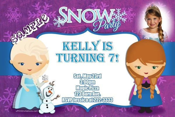 Frozen the movie anna and elsa birthday invitations get these frozen the movie anna and elsa birthday invitations get these invitations right now design yourself online download and print immediately filmwisefo