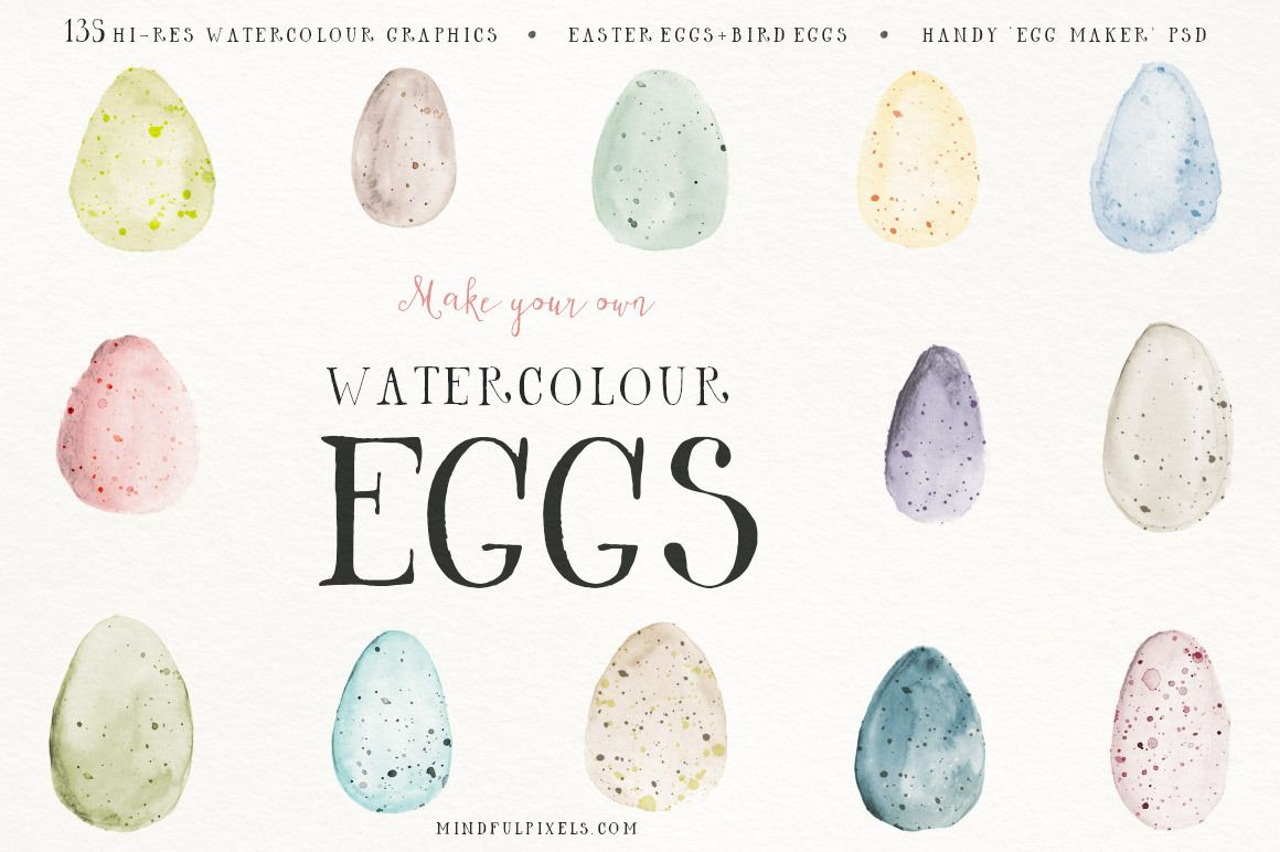 How To Paint Your Own Watercolour Easter Card Watercolor Easter