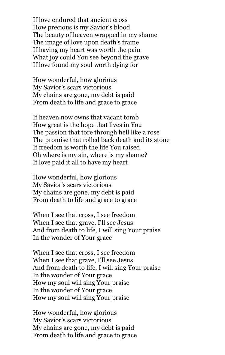 Grace to Grace  // hillsong worship | praise Him | Worship