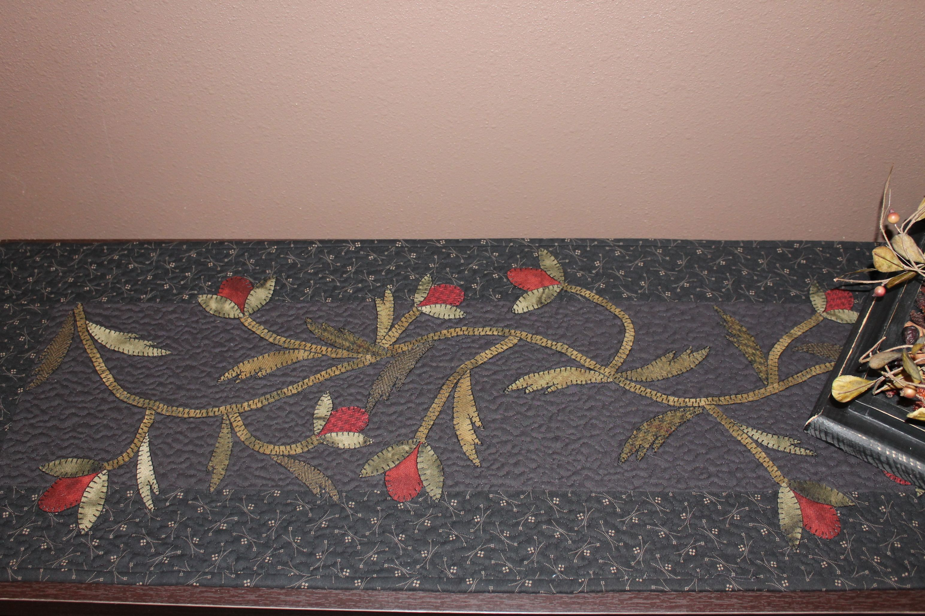 Wool Runner Wool Applique Wool Felt Projects Wool Quilts