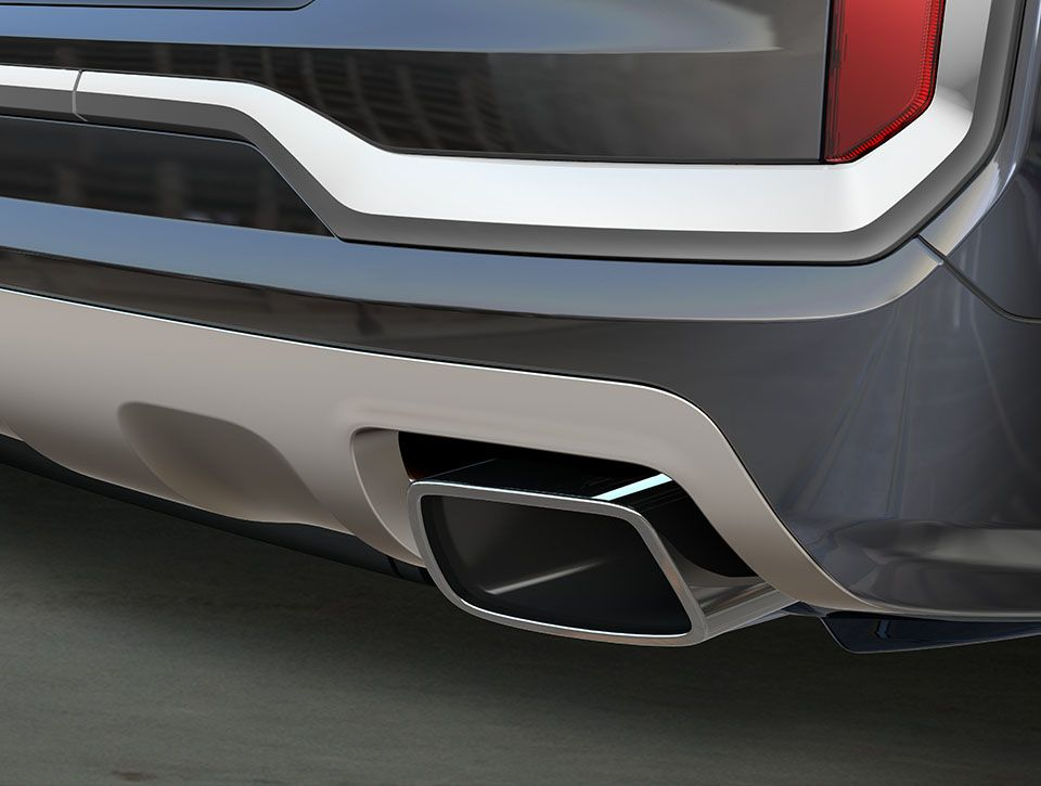 Exhaust Tips On The Gmc Terrain Gmc Terrain Compact Suv Gmc
