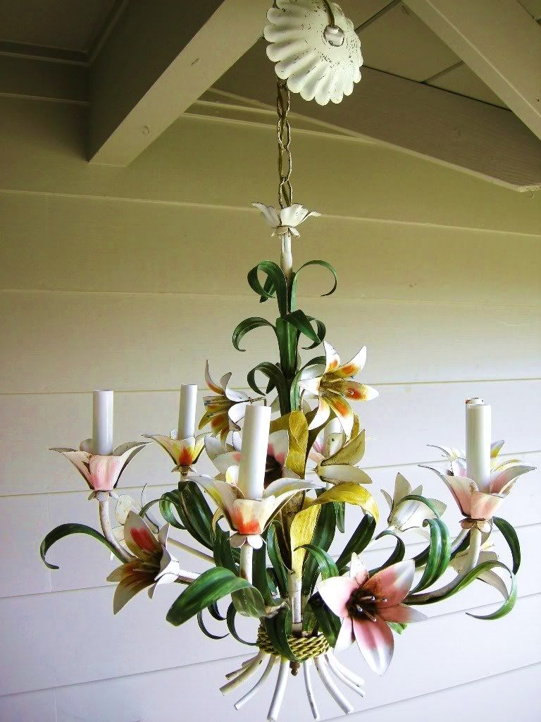 Italian tole chandelier i want this for my home pinterest italian tole chandelier mozeypictures Image collections