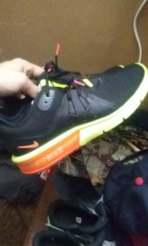online store e790c c3c2e ... release date nike air max us size 9 mens black and neon green fashion  a1761 6baa6