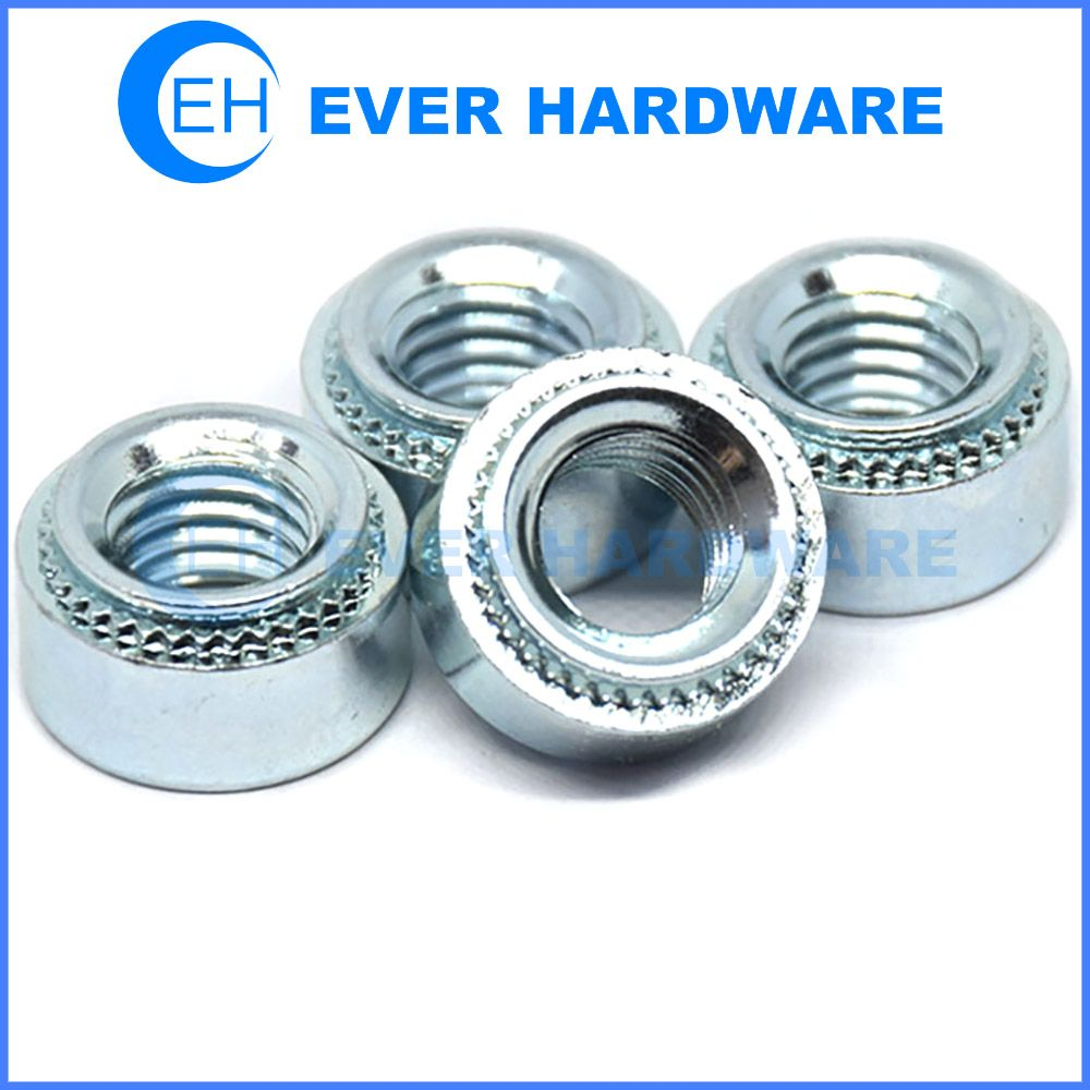 Pem Fasteners Self Clinching Nuts Panel Hardware Pc Boards Mounting Zinc Plating Zinc Coating Fasteners