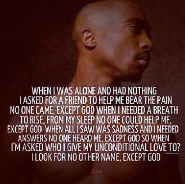 Tupac I feel ya. Trust no one! Only yourself | 2pac quotes ...