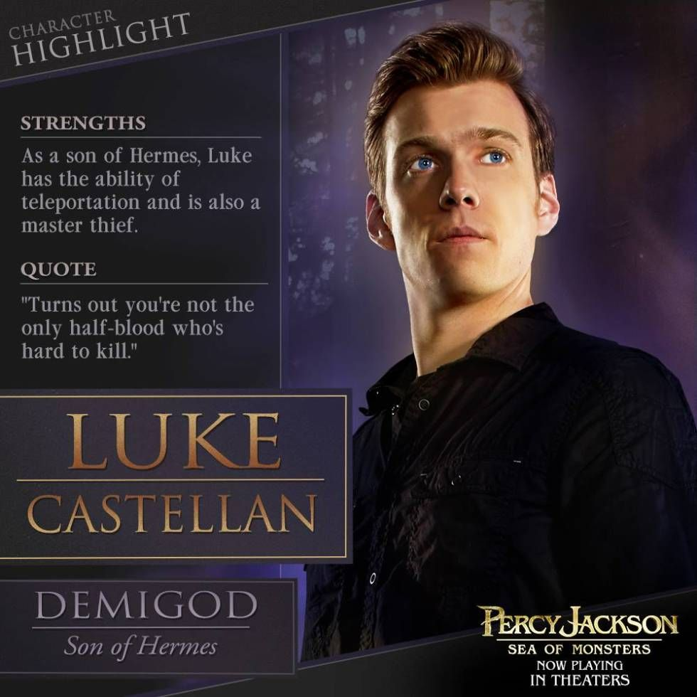 New Picture For Percy Jackson Sea Of Monsters Luke Castellan