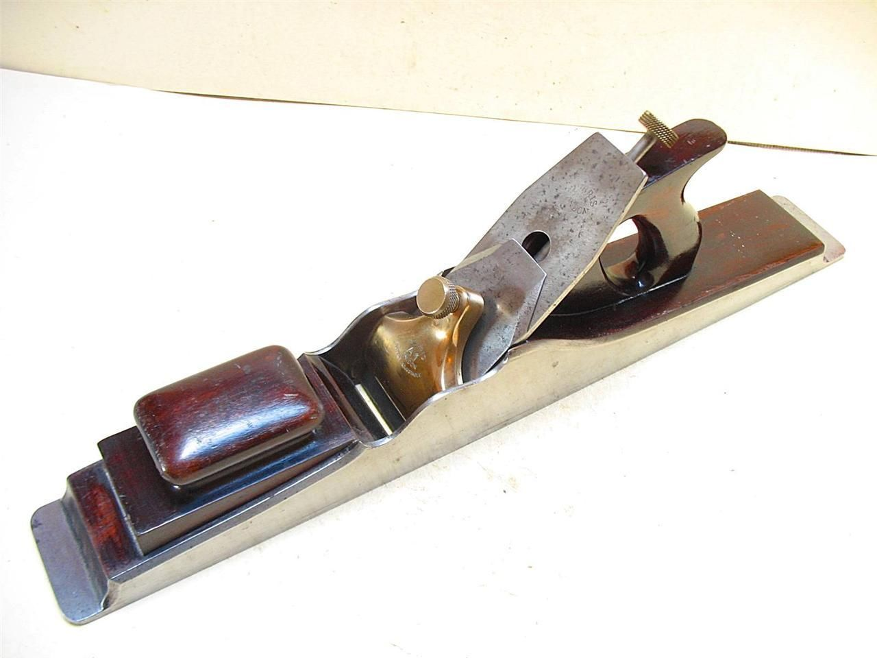 Rare Norris London A1 Dovetailed 22 1 2 Jointing Plane 1922