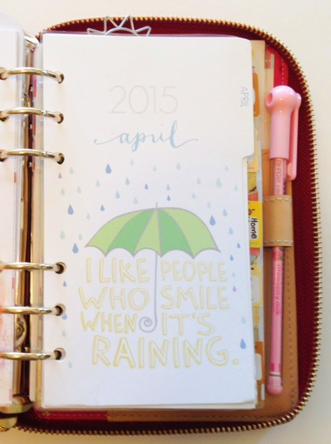 Happiness is Scrappy: Feature Friday | Christie and Her Lovely Kate Spade Wellesley Agenda