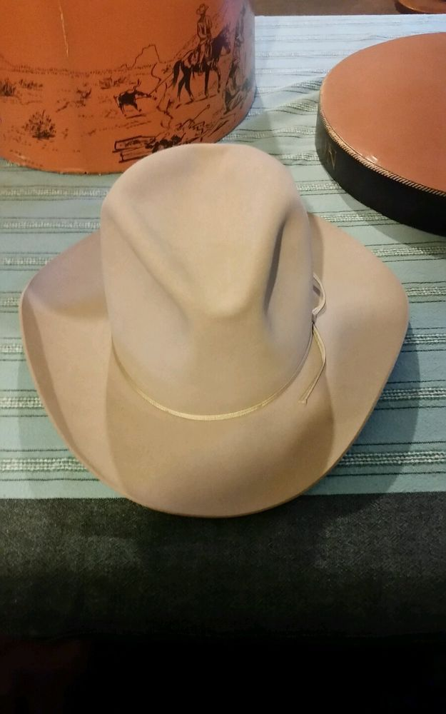 Stetson Cowboy Hat Size 7 1 4 with Original Box  3a3512c4343