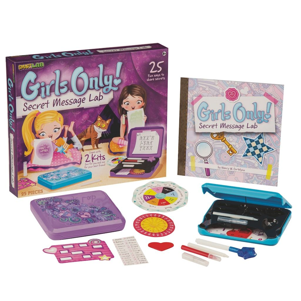 Girls Only Secret Message Lab by SmartLab Toys 9 year