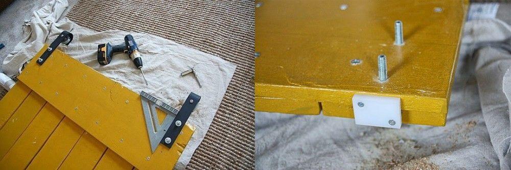 Cómo hacer una puerta corrediza rústica a partir de palets   Notas   La Bioguía