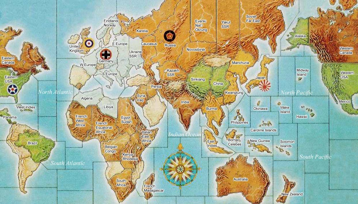 Africa Map Quiz%0A Image result for axis and allies pacific map   Axis and Allies   Pinterest
