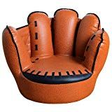 Kids Tv Chair Adirondack Ski Chairs For Baseball Glove Sofa Five Finger Style Toddler Armchair Living Room Reading Lounge Bedroom Seat Boys Brown