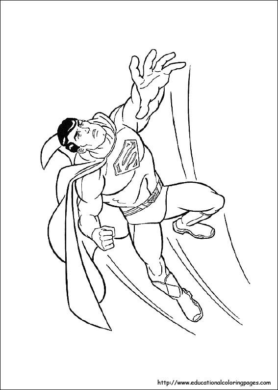 Superman Coloring Pages Free For Kids Superman Coloring Pages Coloring Books Coloring Pages For Kids