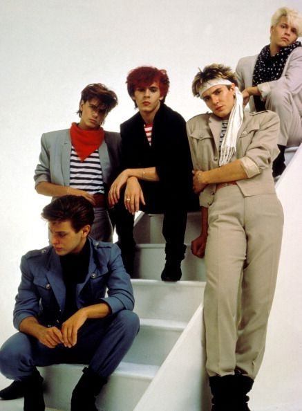 Duran Duran. 1982.  My mom got me into 80s rock...believe it or not.  She still plays these guys on occasion in the car.