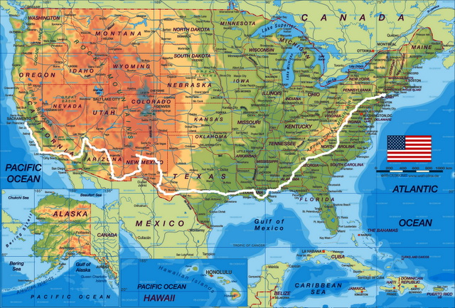 USA road trip how I would love to do this – Travel Maps Of Usa