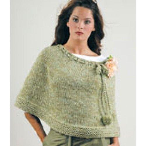 Mary Maxim Free Poncho Knit Pattern Knitting Pinterest Hood