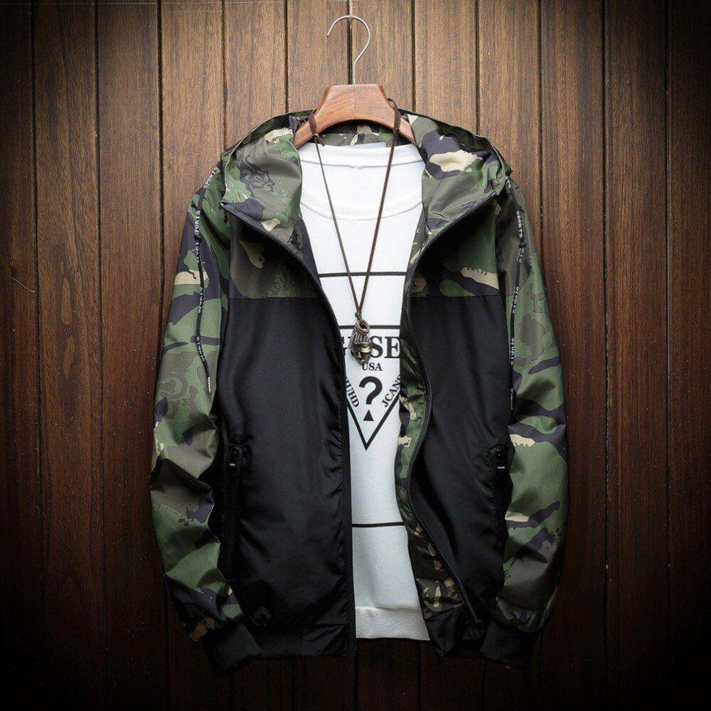 Usd 11 81 Autumn Hooded Bomber Jacket Men Hip Hop Slim Fit Military Baseball Jacket Coat Men S H In 2021 Hooded Jacket Men Hooded Bomber Jacket Men S Coats And Jackets [ 1000 x 1000 Pixel ]