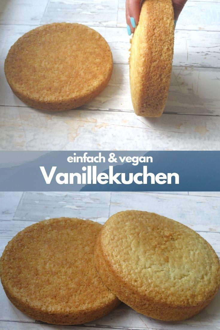 Veganer Vanillekuchen Rezept (Tortenboden) – Carey&CleanEatingS