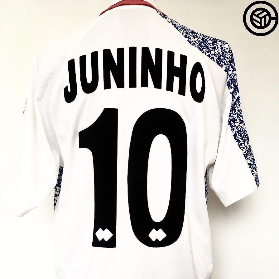 d85789f01 Get your hand on that Juninho Boro shirt @cultfootball Link in bio #Juninho  #boro #middlesbrough #footballshirtcollective #footballshirt