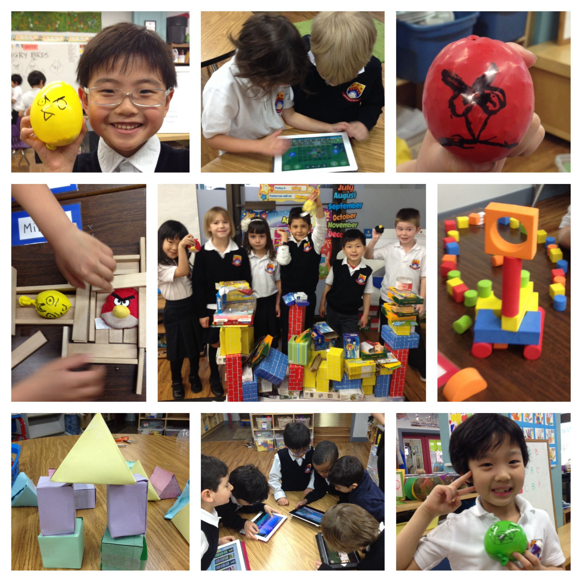 Angry Birds Structures