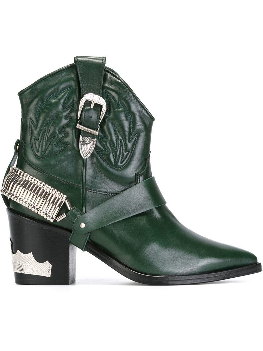 Popular Toga Pulla cowboy boots - Black farfetch neri Donde Puedo Ordenar Para Barato En Línea Barata Pagar Con El Precio Barato Paypal 3SN9ZCJA