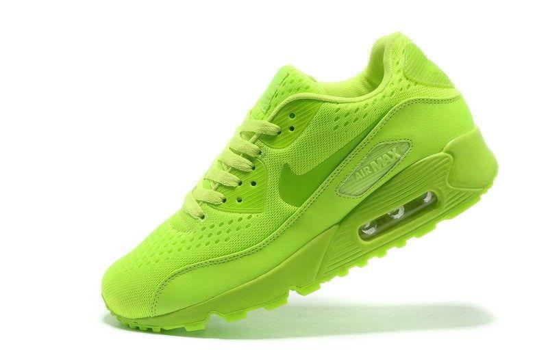 air max 90 verde fluo