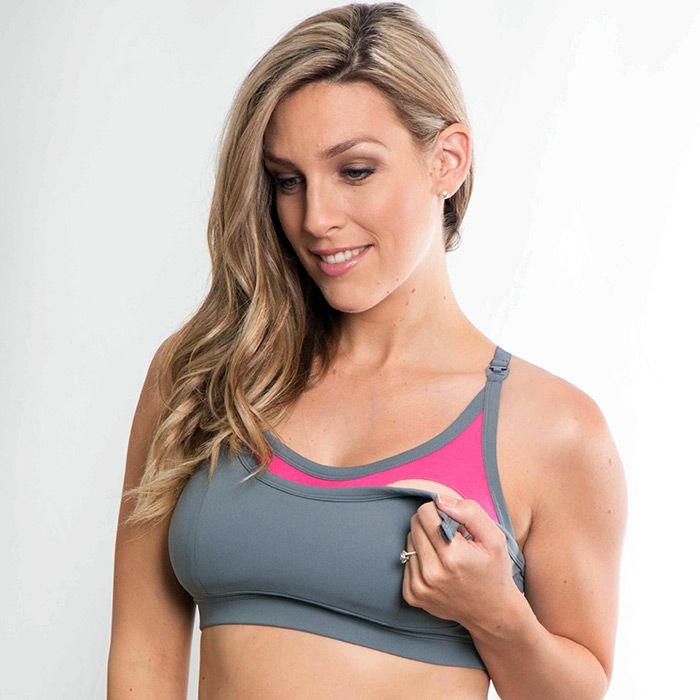 0ccd016a89936 Cadenshae Everyday nursing bra is simply a fabulous maternity bra. Soft  grey fabric