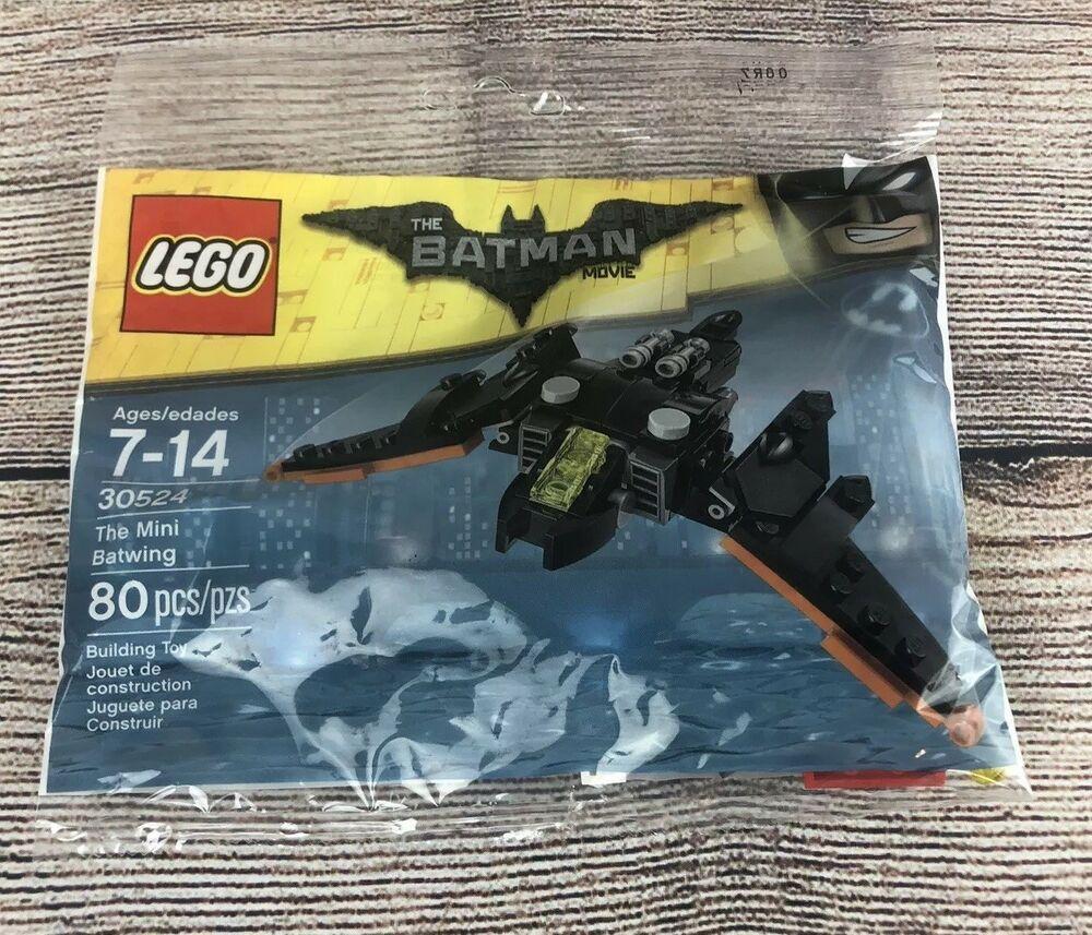 The Lego Batman Movie THE MINI BATWING Set 2017 Polybag 30524 Bat Wing Promo Bag
