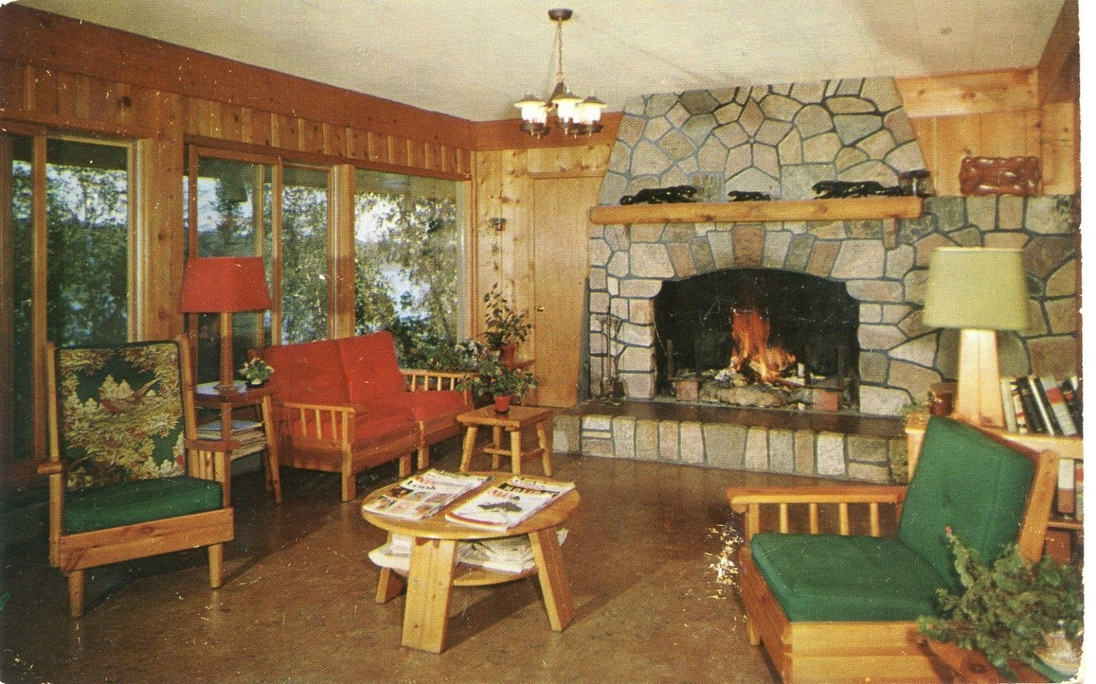 De Havens North Star Camp Lounge area in Marcell Minnesota ...