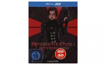 [Angebot]  Resident Evil: Retribution  Blu-ray 3D  2D  Steelbook (Blu-ray) für 1397
