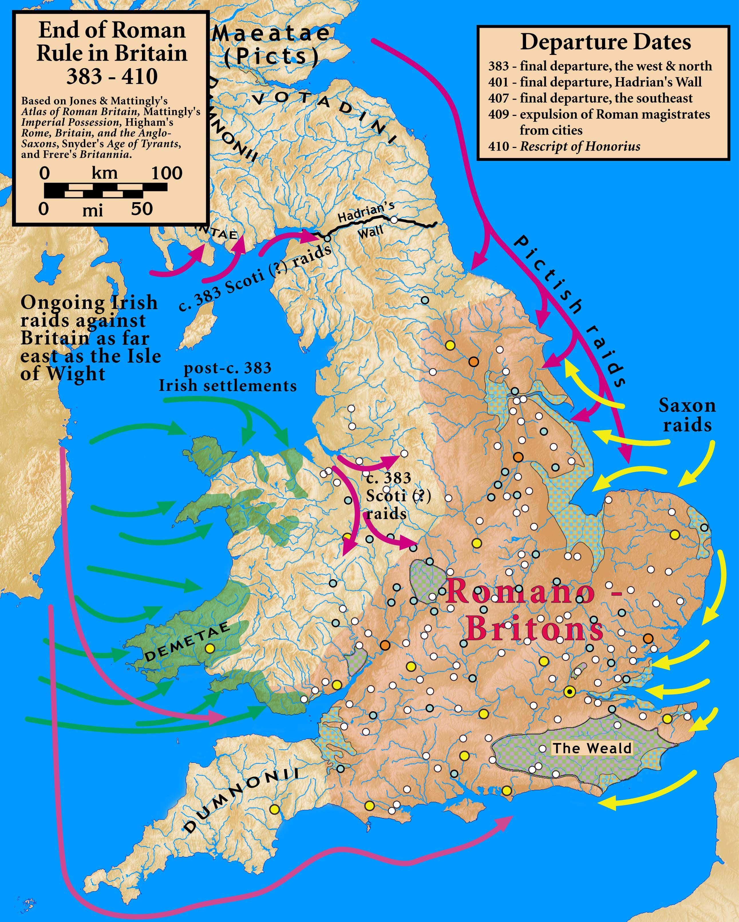 21 Maps That Will Change How You Think About Britain Roman Britain Map Of Britain Roman History