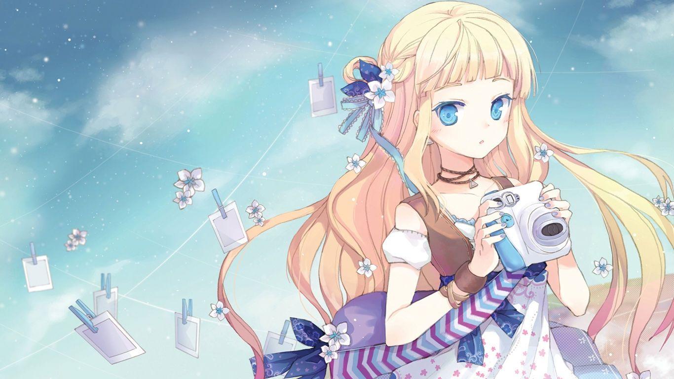 Image for Fresh Anime Girl HD Wallpaper