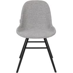Photo of Albert Kuip upholstered chair – blue – without armrests Zuiver