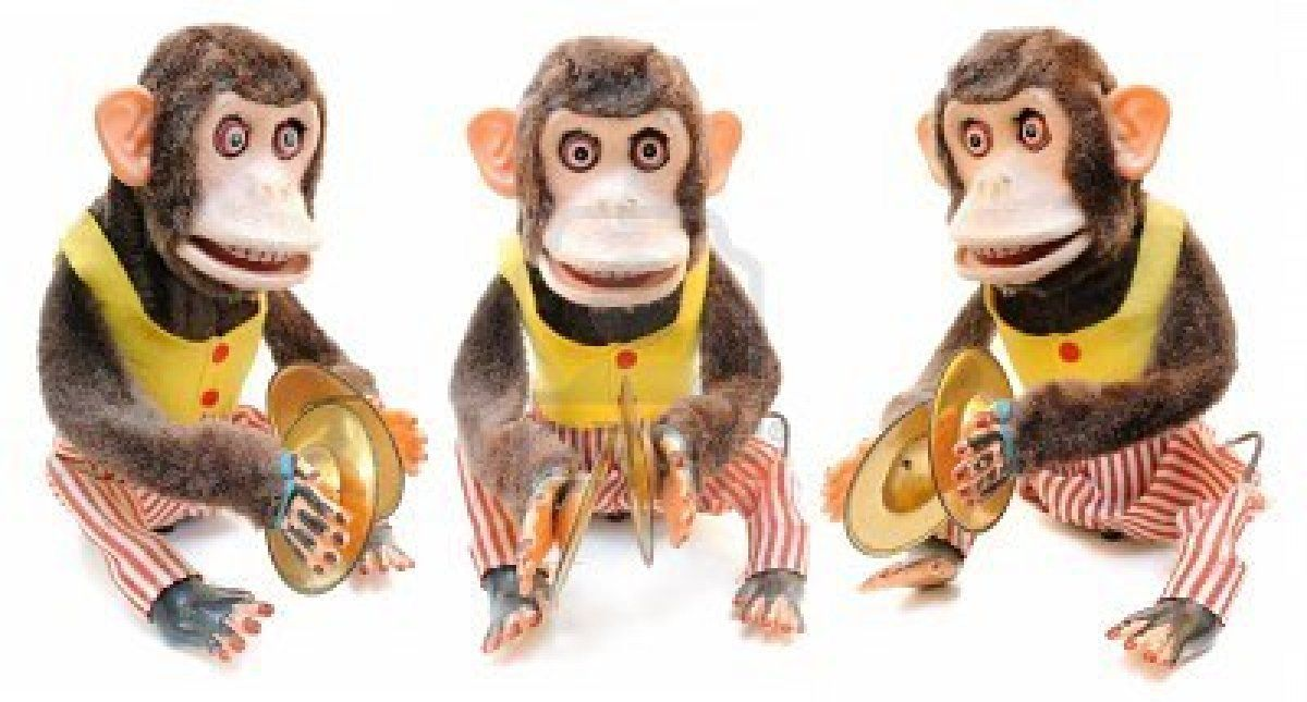 8407274 Monkey With Cymbals Isolated On Whiteg 1200645 Arte