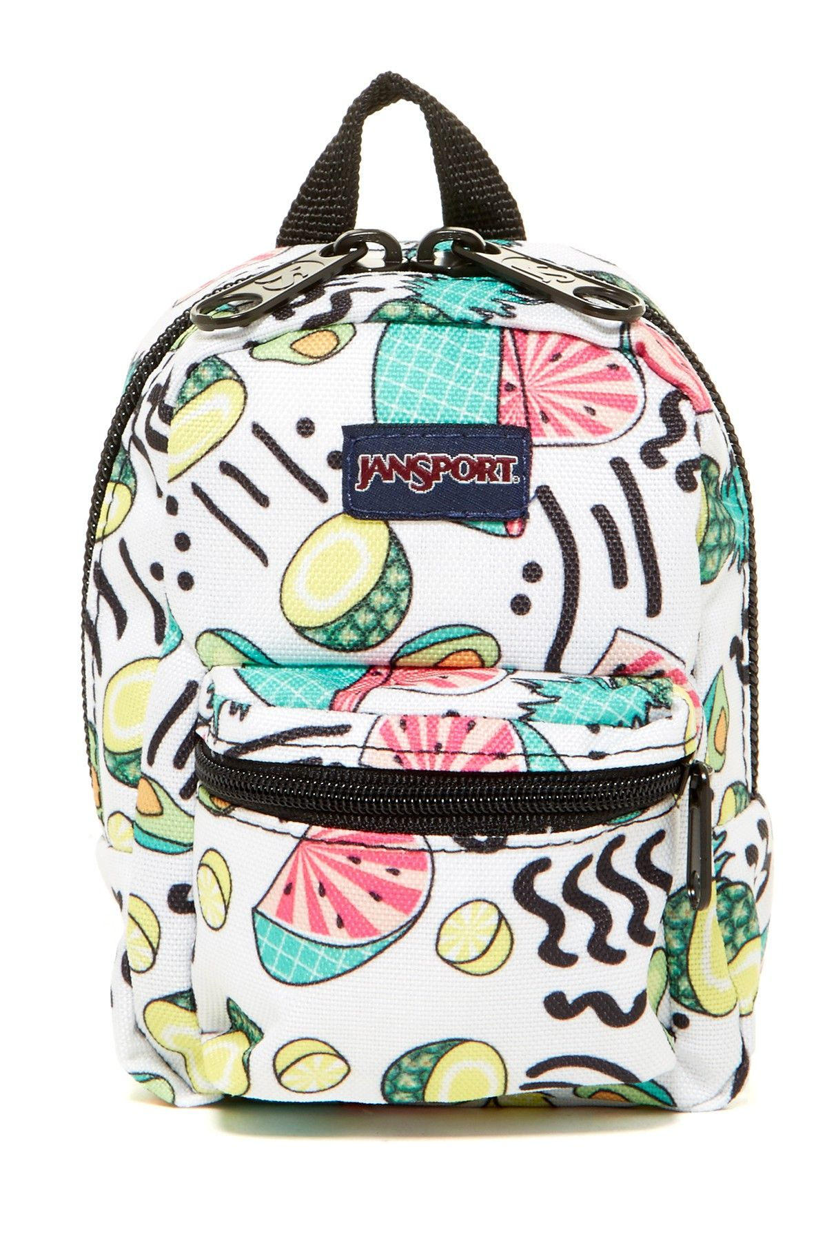 1e88c6cc531 Lil  Break Pouch Fruit Ninja Pouch White Backpack